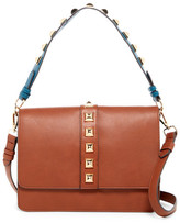 Steve Madden Flap Faux Leather Crossbody