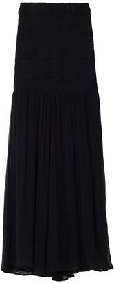 Rodebjer Halcyon Sheer Wrap Maxi Skirt
