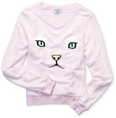 Wildfox Couture Girls 7-16) Cat Nap Pullover Sweatshirt