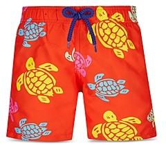 Vilebrequin Boys' Turtle Print Swim Trunks - Little Kid, Big Kid