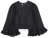 McQ by Alexander McQueen Embroidered Top