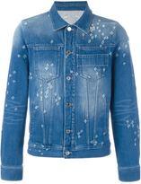 Givenchy distressed effect denim jacket