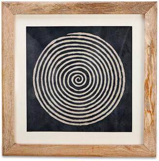 Nkuku Dabu Block Print - Spiral