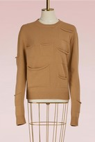 J.W.Anderson J W Anderson Wool sweater with multi pockets