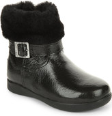 UGG Gemma patent leather boots 2-5 years