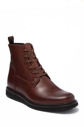 John Varvatos Star Leather Lace-Up Boot