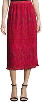 Prabal Gurung Pleated Chiffon Skirt