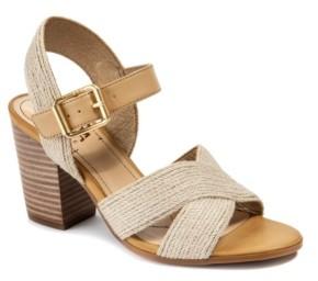 Lucca Lane Tango Block Heel Sandals Women's Shoes