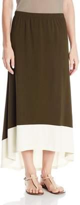 Jones New York Women's Hi-Low Maxi Skirt
