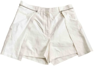 3.1 Phillip Lim White Cotton Shorts for Women