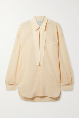 Equipment Archive 3 Silk Shirt - Cream