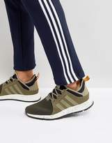 adidas X_PLR Boot Sneakers In Green BZ0670