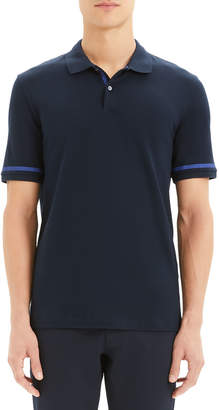 Theory Men's Function Stretch-Cotton Pique Polo Shirt