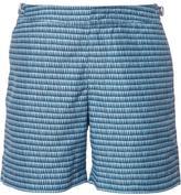 Orlebar Brown geometric print swim shorts - men - Polyester - 32