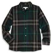 Burberry Little Boy's & Boy's Mini Fred Check Shirt