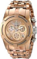 Invicta Women's 16111 Bolt Analog Display Swiss Quartz Rose Gold Watch
