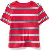 Old Navy Striped Crew-Neck Tee for Toddler