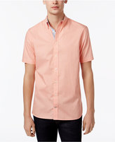 Tommy Hilfiger Men's Short-Sleeve Carl Birdseye Shirt