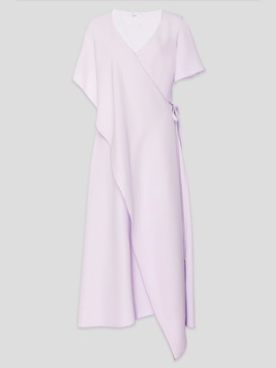 Rosetta Getty Panel Wrap Midi Dress