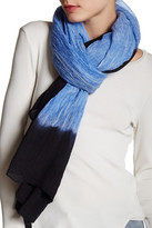 Italca Colorado Cornice Cold Dyed Cashmere Blend Scarf