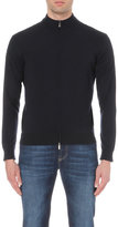 Canali Zip-up Wool Jumper