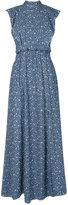 Lilly Sarti - denim maxi dress - women - Cotton - 42