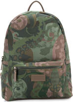 fe-fe camouflage print backpack