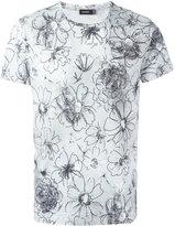 Jil Sander floral print T-shirt - men - Cotton - XL