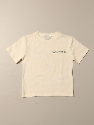 Gucci Cotton T-shirt With Back Print