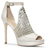 Vince Camuto Imagine Keir – Embellished Peep-toe Heel