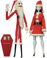 Diamond select toys Disney's Nightmare Before Christmas Santa Jack Skellington & Sally Coffin Doll Set by Diamond Select Toys