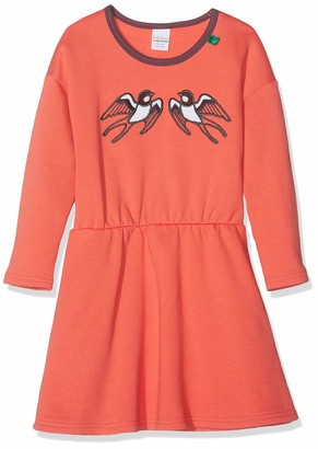 Fred's World by Green Cotton Girl's Bird Sweat Dress