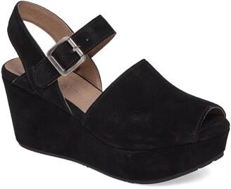 Chocolat Blu Wagga Platform Wedge Sandal