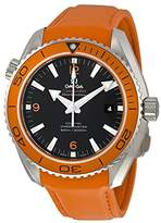 Omega Seamaster Planet Ocean Orange Silicone Rubber Men's Watch 23232462101001