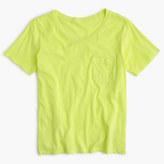 J.Crew Garment-dyed pocket T-shirt