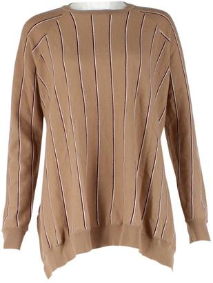 Stella McCartney Camel Wool Jumpsuits