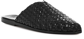 ST. AGNI Women's Caio Woven Pointed-Toe Mules