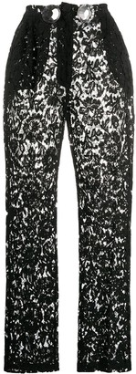 Loulou Lace Trousers