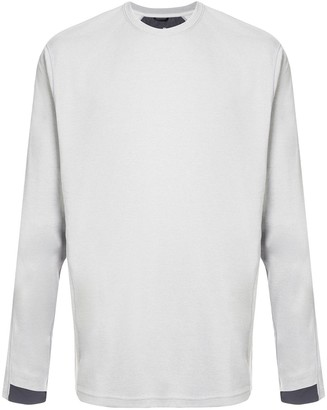 Reigning Champ contrast cuff T-shirt
