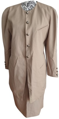 Georges Rech Beige Wool Jacket for Women