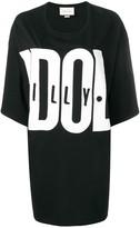 Gucci logo print long T-shirt