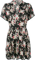 Amen floral print pleated dress - women - Silk - 42