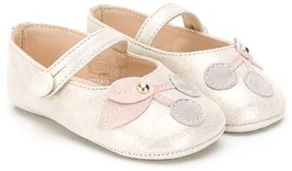 Bonpoint Cherry ballerina shoes