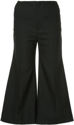 Georgia Alice Bobby cropped flared trousers