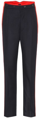 Joseph Annam wool and cashmere-blend pants