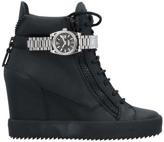 GIUSEPPE ZANOTTI x CHRISTIAN COWAN High-tops & sneakers