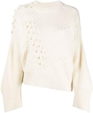 LOULOU STUDIO Multi-Knit Sweater
