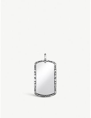 Thomas Sabo Large Dog Tag sterling-silver charm pendant