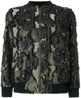 Paul & Joe camouflage bomber jacket