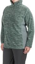 Columbia Glacial Fleece III Jacket - Zip Neck (For Plus Size Women)